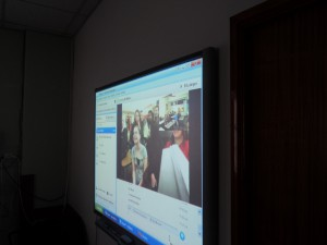 skype with american school
